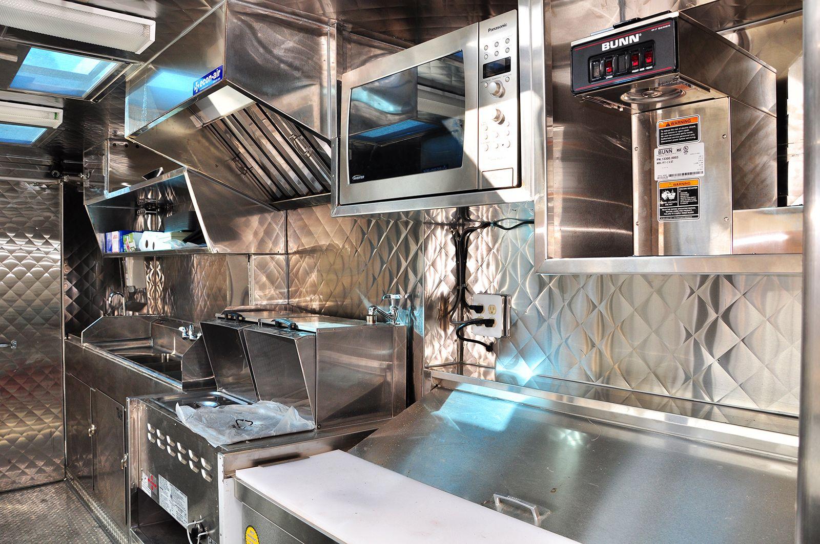 Inside A Food Truck