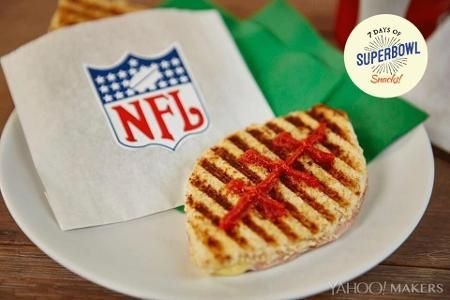 Tackle Your Game Day Hunger With Football Sammies