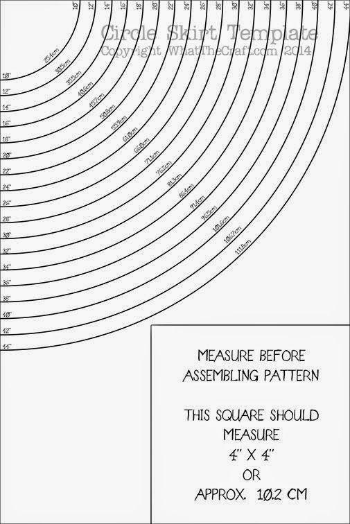 Patrón para hacer un volante circular sin cálculos matemáticos ...