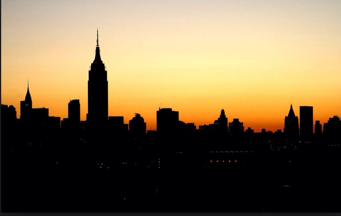 City Landscapes New York Landscape City Silhouette City Skyline Silhouette