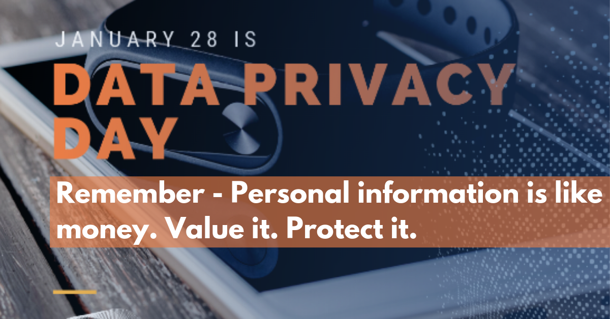 It S Important To Understand How Much Of Your Information Is Already Out There Data Privacy Day Reminds Us To Be Aware And Cyber Security Data Security Tips
