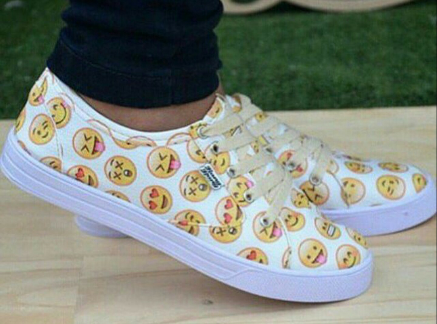 a9e996b6c07037 EMOJI SHOES on The Hunt