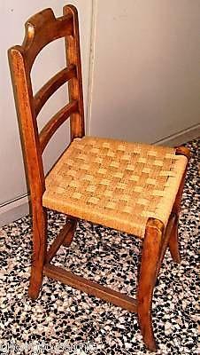 sedia in legno anni 20 tipo cucina | sedie tipo cucina anni 30 ...