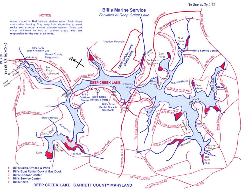 Bills Marine Deep Creek Lake