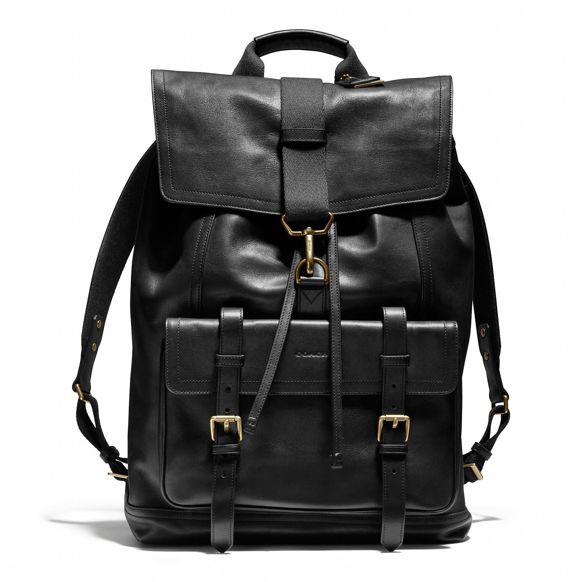 #SportYourUltimateMothersDay A truly special gift: the Coach Bleecker  Backpack in Leather