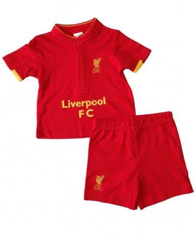 008c8971b Liverpool Baby Kit T-Shirt   Shorts Set - 2016 17