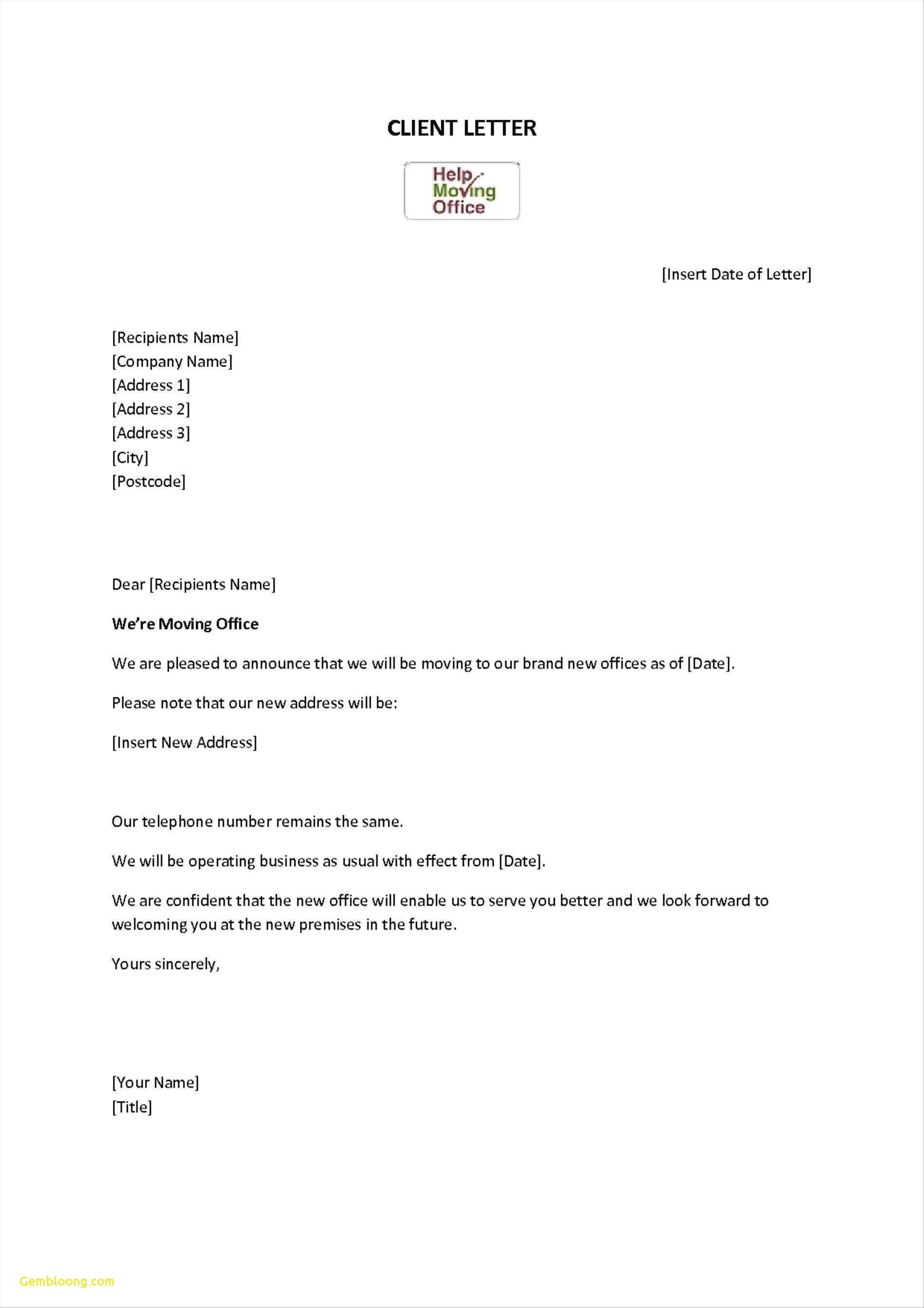 Valid Letter format for Change Of Telephone Number (With
