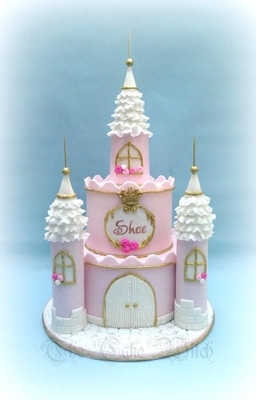 Princess Castle by Nessie The Cake Witch Cakes Cake Decorating