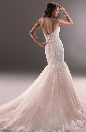 bridal gowns maggie sottero mermaid wedding dress with