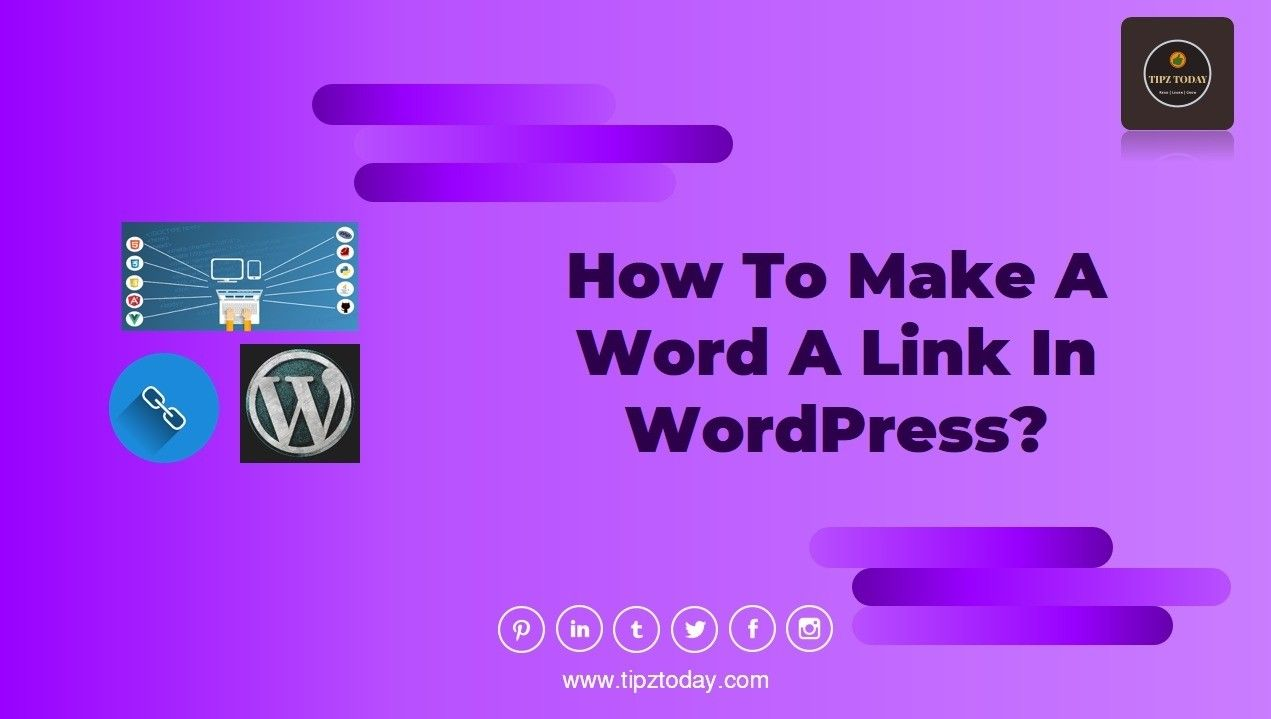 Hyperlinking in 2020 Words, More words, Wordpress