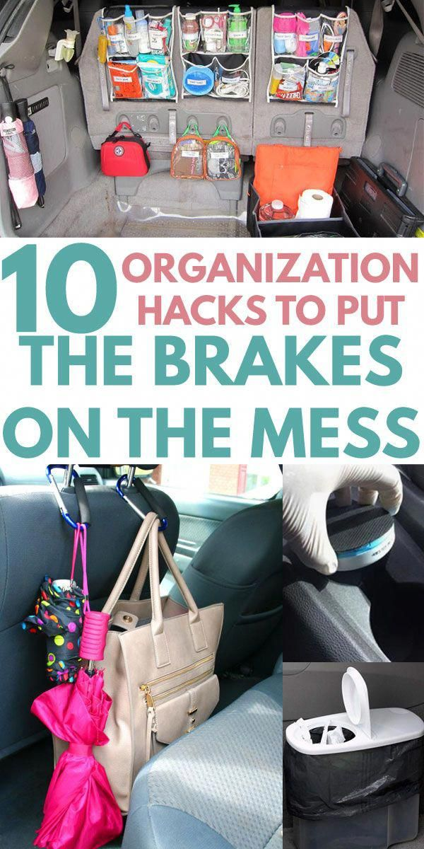 10 Car Organization Hacks to LEAVE CLUTTER IN THE DUST