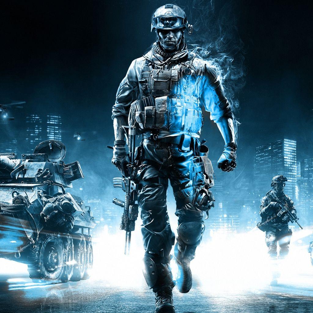 Battlefield 3 Action Game Ipad Wallpapers In 2020 Battlefield 3