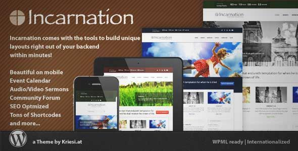 Download And Review Of Incarnation  Church And Community Theme