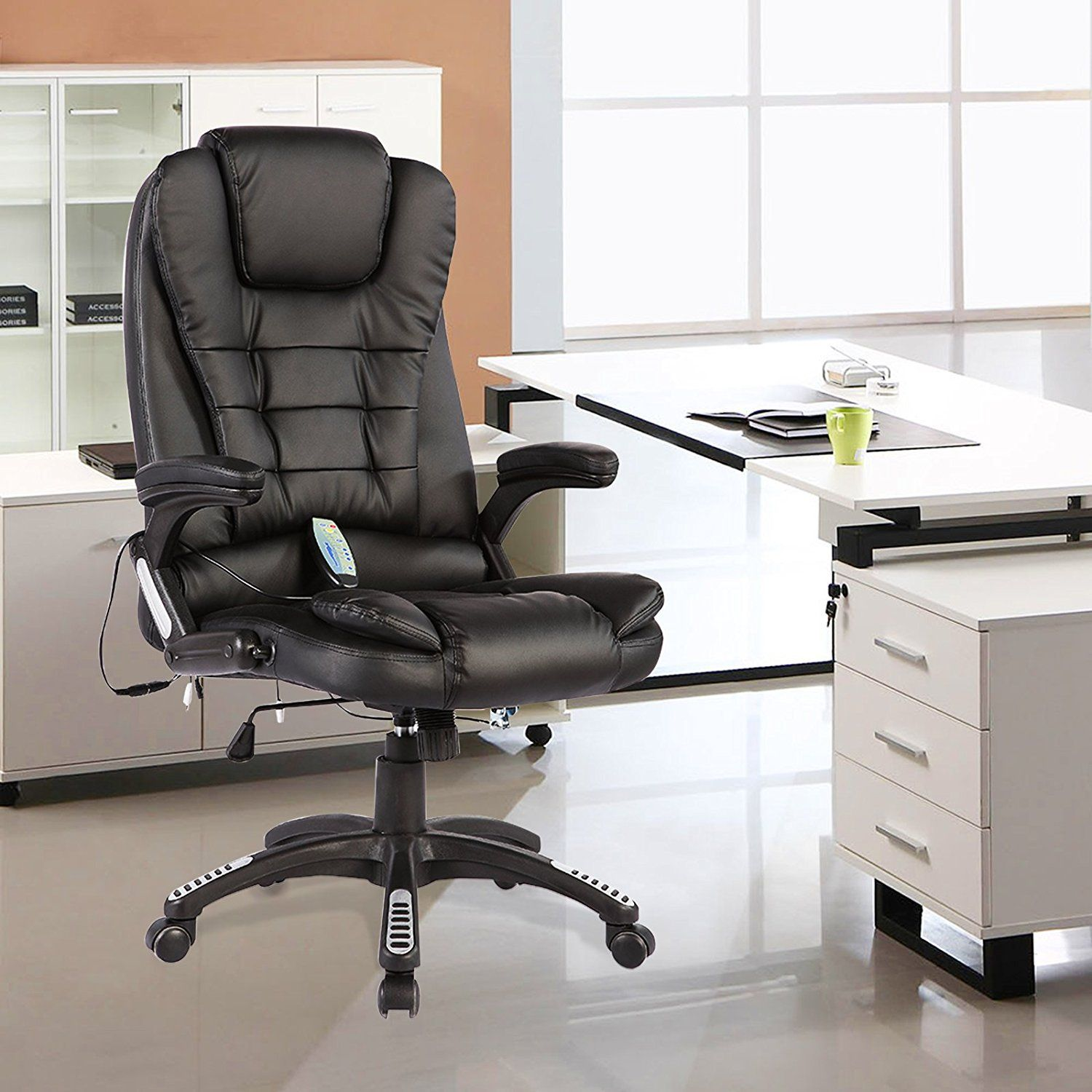 This Executive Ergonomic 6 Point Massage Office Chair Is Providing