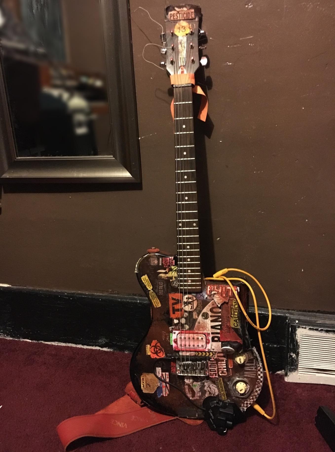 gear my first act me506 hellecaster guitar guitar shots