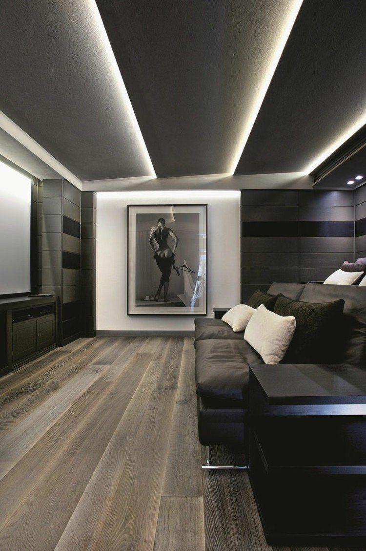 38 Idees Originales D Eclairage Indirect Led Pour Le Plafond Plafond Design Plafond Lumineux Faux Plafond