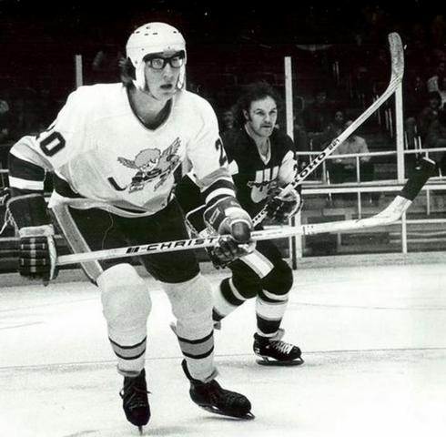 Jack Carlson - Minnesota Fighting Saints 1975