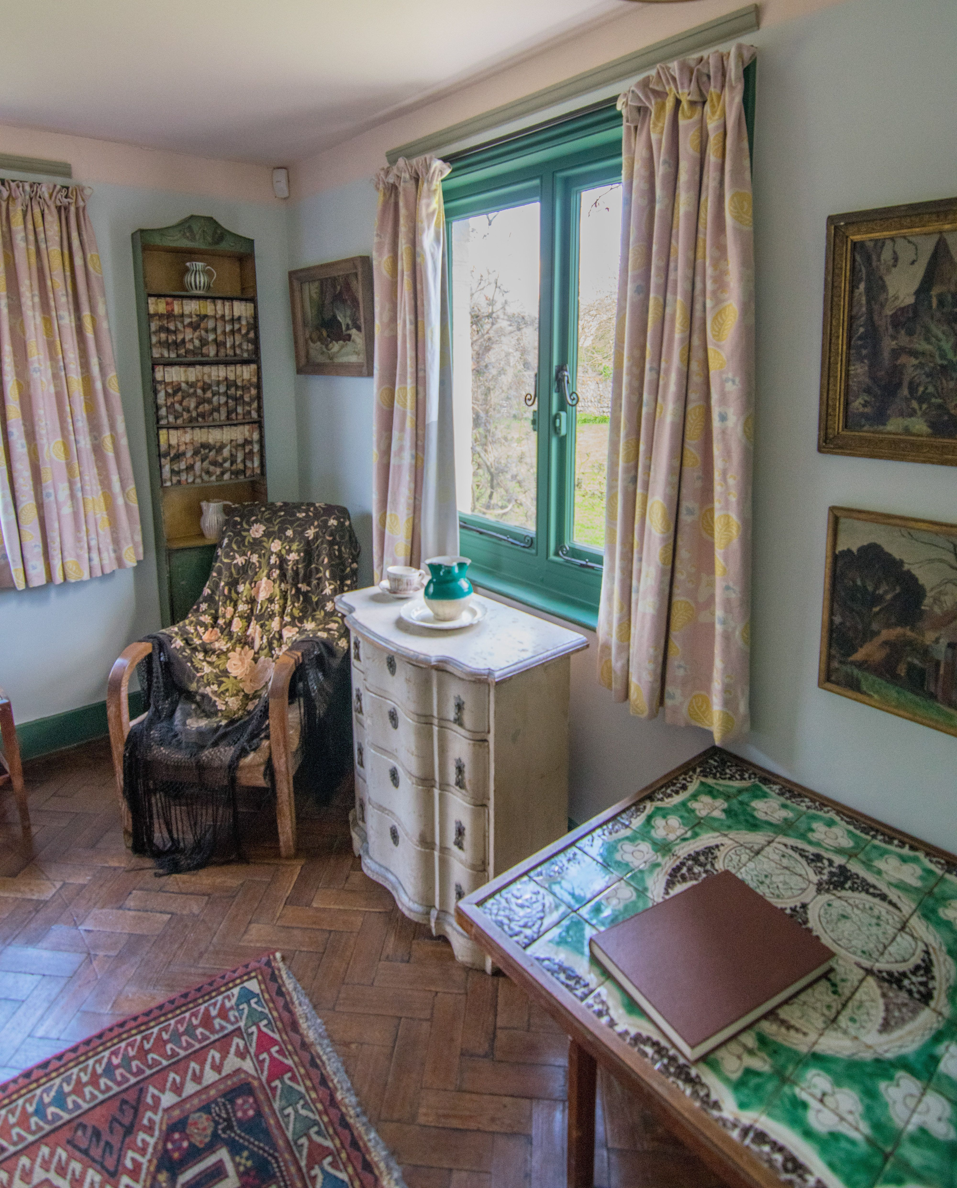 Interieur Design Geschiedenis Virginia Woolf S Bedroom At Monk S House Virginia Woolf
