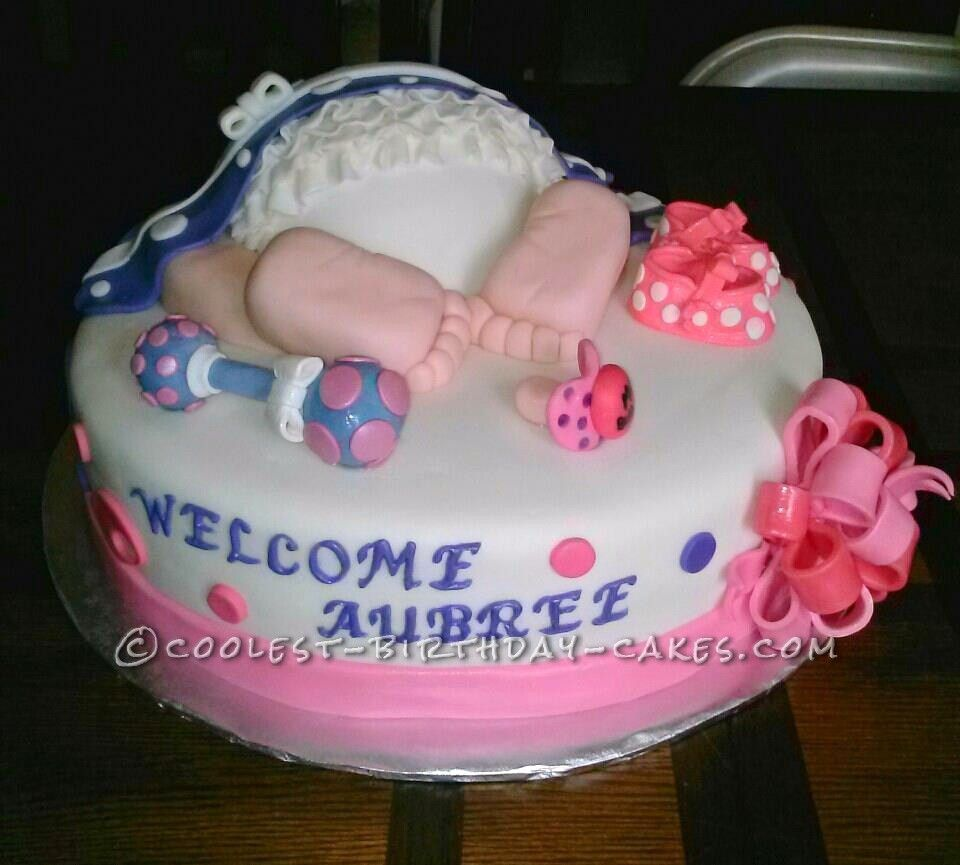 Coolest Ruffle Baby Rump Cake | Birthday cakes, Cake and Babies