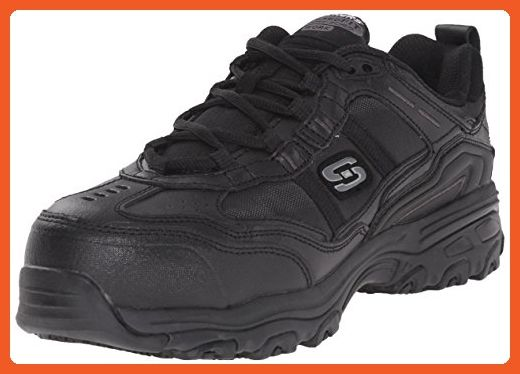 Skechers For Work Women S D Lite Slip Resistant Toliand Work Shoe