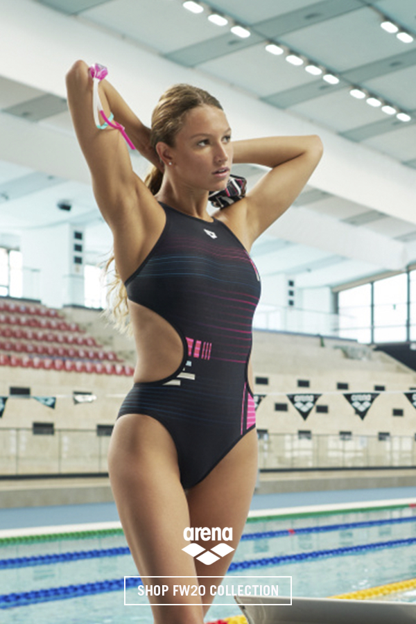 ARENA One Tech Back One Piece Swimsuit Costume Intero Donna