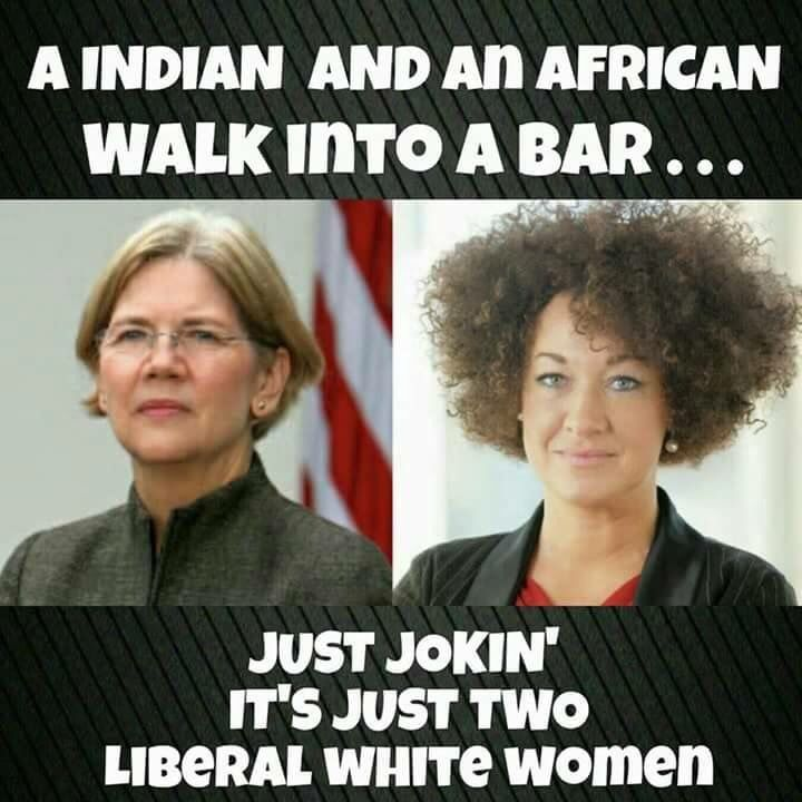 An Indian and an African walk into a bar...
