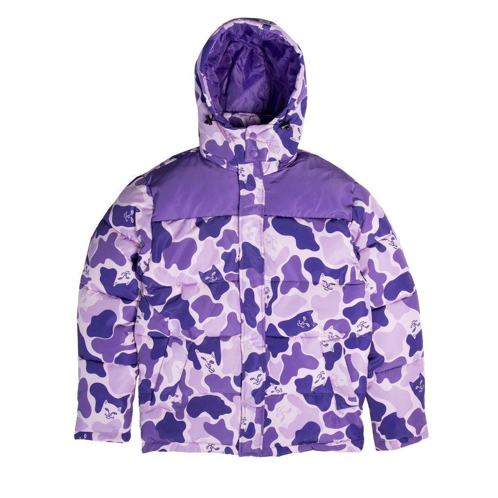 Nerm Camo Puffer Jacket Purple Camo Camo Puffer Jacket Purple Camo Jackets [ 1024 x 1024 Pixel ]