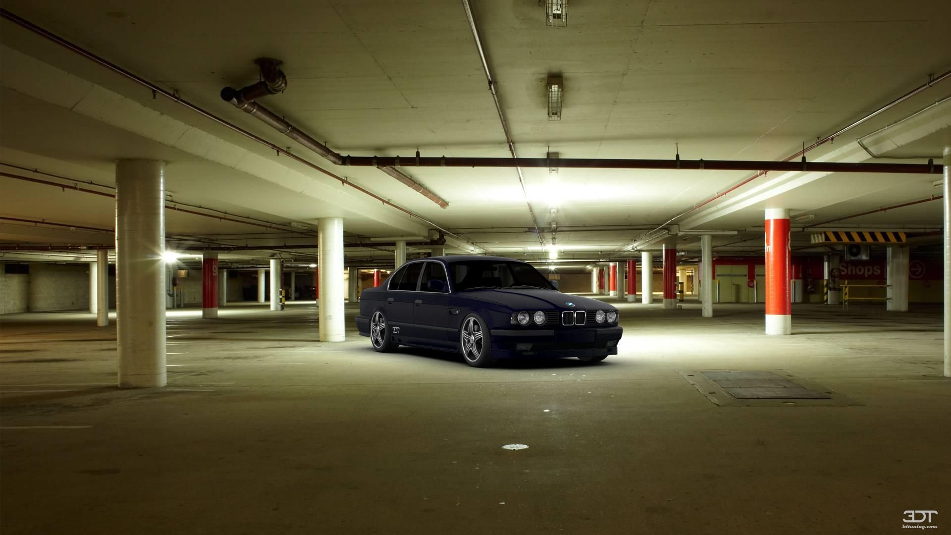 Russian mafia bmw 5series 1987 at 3dtuning 3dtuning tuning