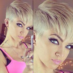 Punk Rock Pixie Cut Google Search Hair And Mu Pinterest