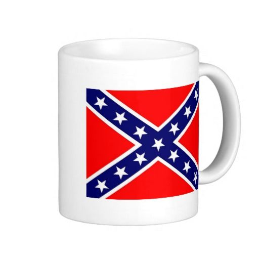 Confederate Flag Mug!  #flag #zazzle #store #gift #customize #country #home #products #shopping http://www.zazzle.com/flagsbydww25921*