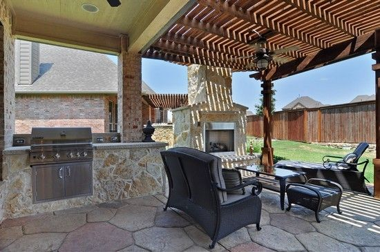 Beautiful Extend Your Kitchen Into The Outdoors On Your Patio And Grill By Sunset. |  Pulte Amazing Design