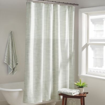 Dkny Yorkville Shower Curtain In Mist Bed Bath Beyond Shower