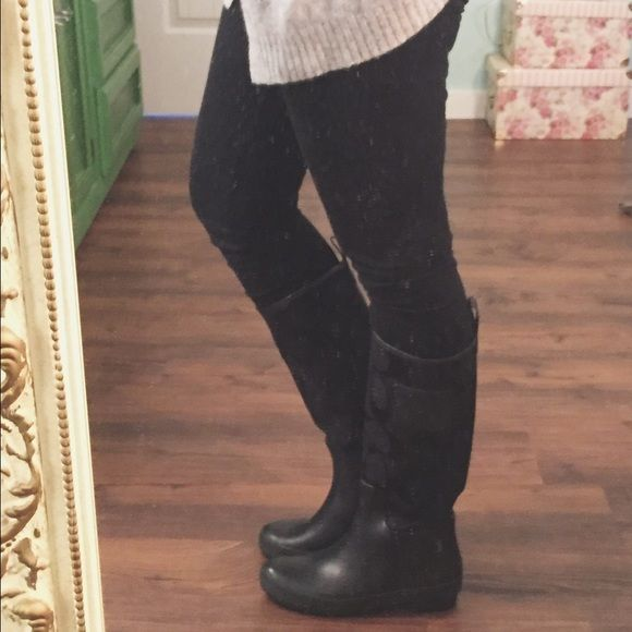 Coach Rain Boots Black NWOT NWOT Black Coach Rain Boots. Super comfortable! Coach Shoes Winter & Rain Boots