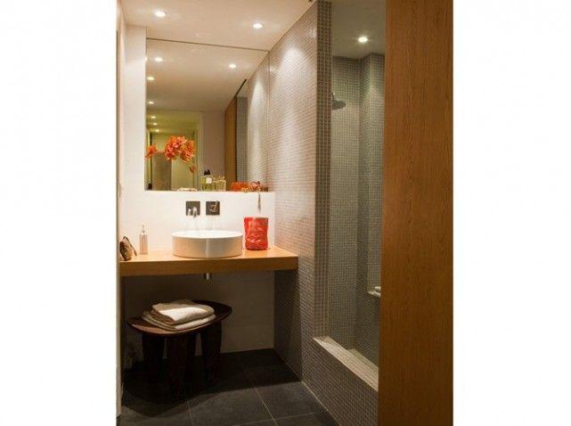 petite salle-de-bain *** salle-de-bain dans les combles