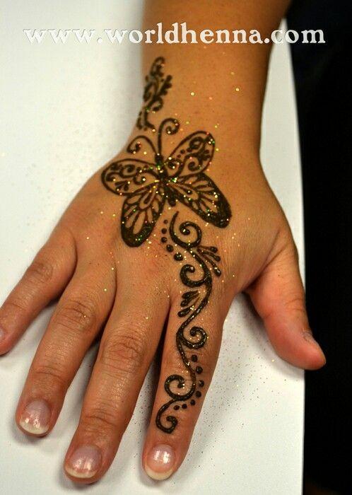 Butterfly Kids Henna Mehndi Designs For Kids Henna Tattoo Designs Simple Henna Tattoo Designs