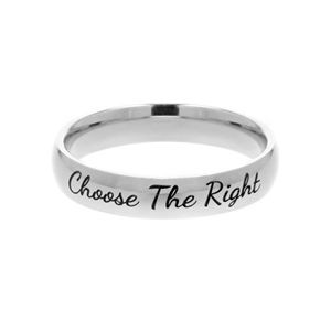 English Choose the Right Ring - Narrow English Choose the Right Ring
