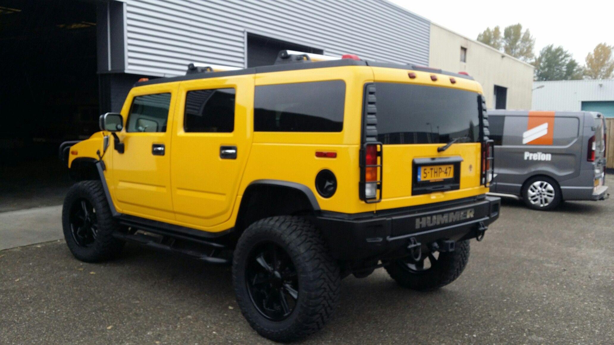 Hummer H2 yellow | CARS | Pinterest | Hummer h2, Hummer and Cars