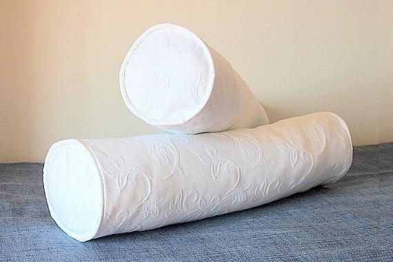 Neckroll Pillow Cover Diy