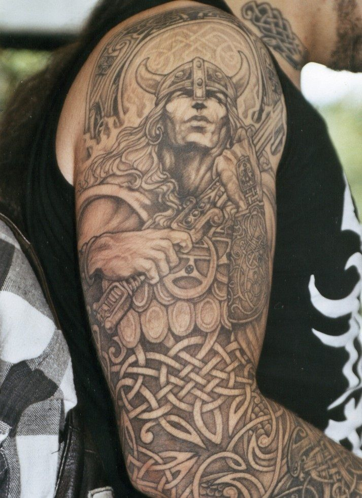 Celtic Sleeve Tattoos For Men Celtic warrior tattoos