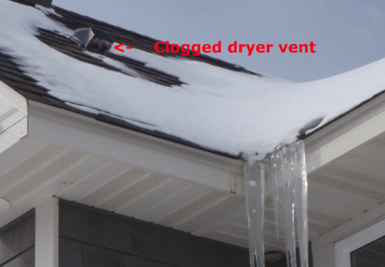 Make Sure To Keep Your Dryer Vent Clear Of Ice And Snow This Winter Dryer Vent Vented Helpful Hints