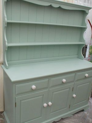 Shabby Chic Welsh Dresser Ideas For My Kitchen Pinterest And
