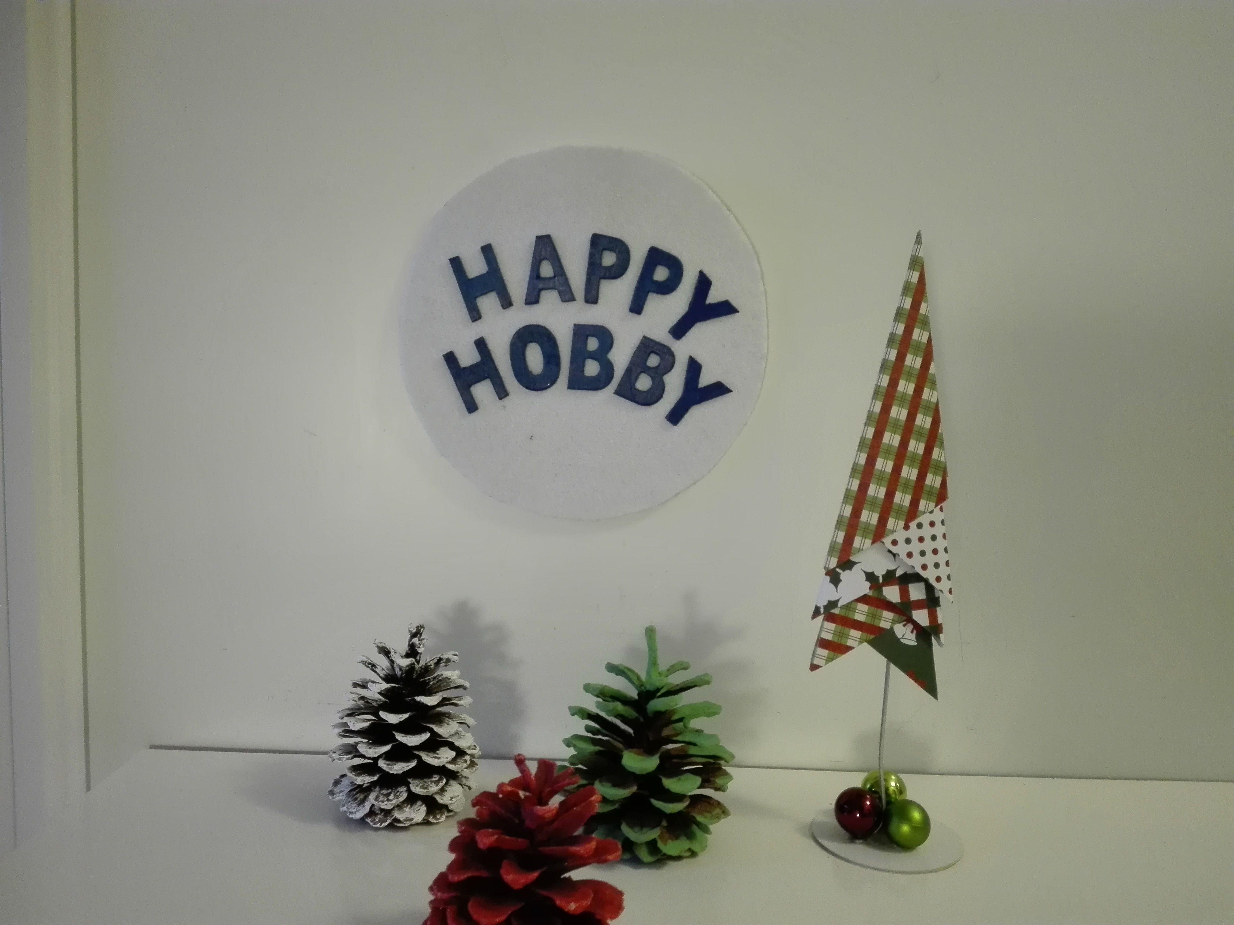3D Weihnachtsbaum / Tannenbaum in Patchwork Style, aus Designpapier ...