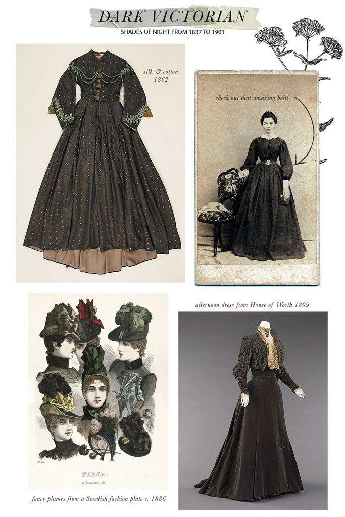 Dark Victorian Vintage Style Inspiration Vintage Fashion Victorian Style Inspiration