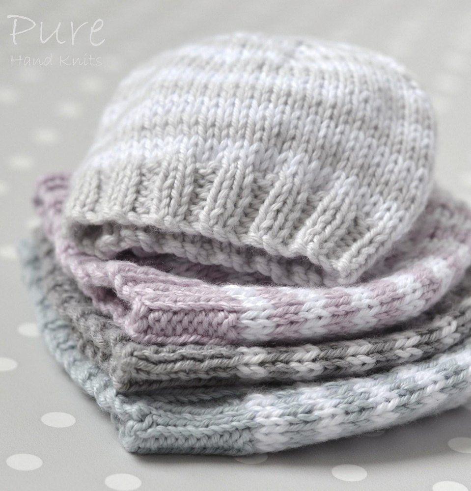Preemie And Newborn Hat Little One Knitting Baby Hat border=