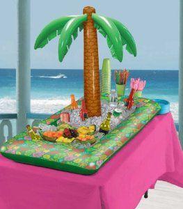 "INFLATABLE PALM TREE 27/"" OVER 2 FEET LUAU PARTY BEACH POOL HULA FREE SHIPPING"