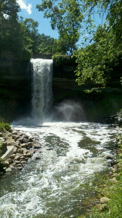 Minnehaha Falls Majesty Of The Sea Places To Go Places To See