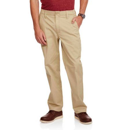 Faded Glory Men's Outdoor Performance Pant, Size: 28 x 29, Beige ...