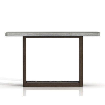 Belmonte Concrete Top Console Table