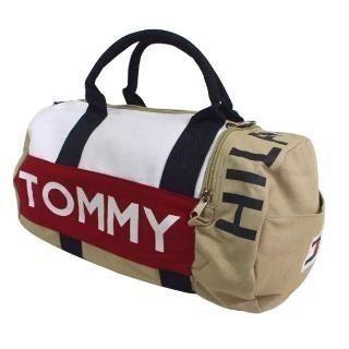 cb1fb44b0564b Bolsa Tommy Hilfiger Mini Duffle Bege — DICORD   Stuff to Buy