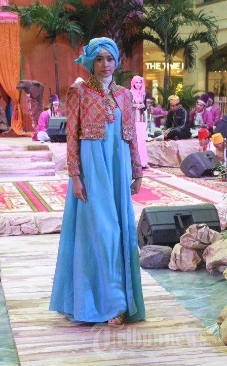 style dress muslimah rancangan